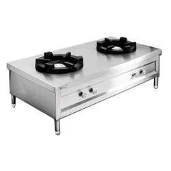 Two Burner Bulk Cooking Range