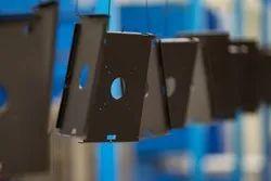 Gray Sheet Metal Powder Coating, Electrodusting equipment three sets of combinations