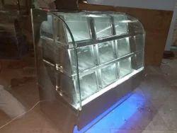 SS Namkeen Display Counter