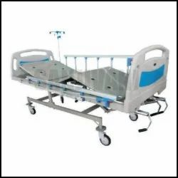 ICU Bed /Manual ICU Bed with Collapsible Side Railings