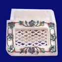 Trinket Box Marble Inlay Gift Box