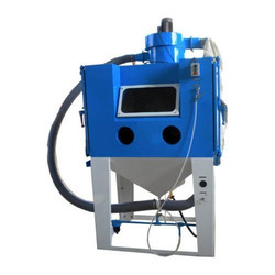 Aluminium Semi-Automatic Industrial Blasting Machine, Voltage: 380 V