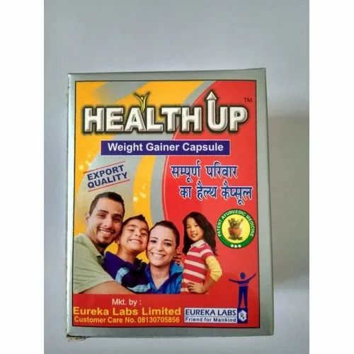 Health Up Weight Gainer Capsule Pack Type Box Rs 210 Pack M S M S Herbal Life Care Id 20622003448