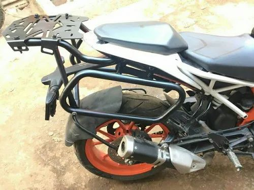 Ktm Duke 390 Saddle Bag Stand Carrier Royal Enfield
