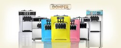 Donper Soft Ice Cream Machine