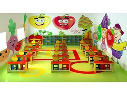 SQ-24 Fruit Series Theme Furniture For School