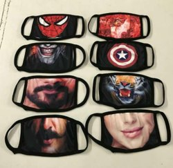 Adults Sublimation Washable Face Mask