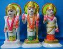 N / A N / A Marble Ram Parivar Statue