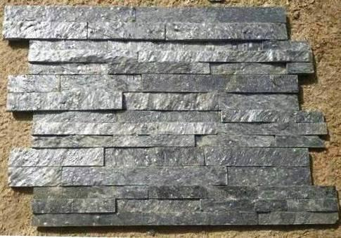 Deoli Green Slate Stone Wall Panel / wall cladding at Rs 100 /square ...