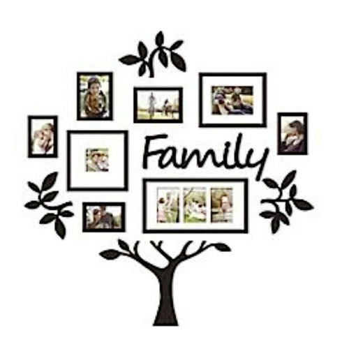 Tree Shape Wooden Photo Frame at Rs 1200 /piece | Wooden Photo ...