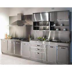 Charming Stainless Steel Modular Kitchen