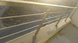 Stainless Steel Silver Railing