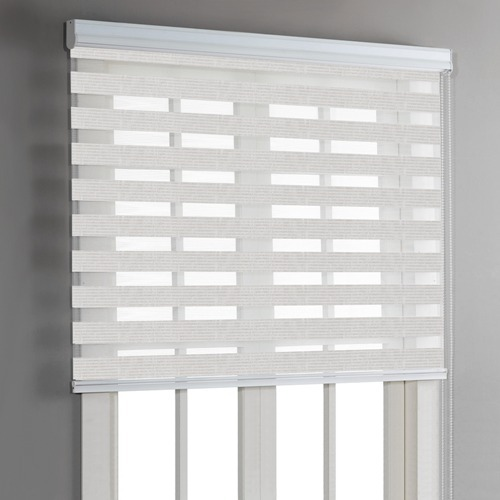 White PVC Horizontal Window Blinds For Office And Home