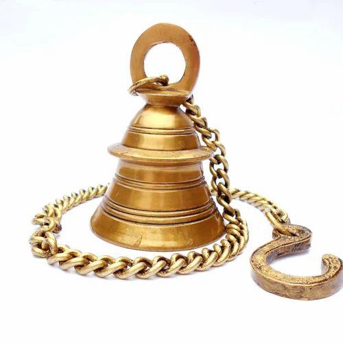 Susajjit Decor Decorative Brass Bell