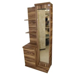 Living Woods Brown Wooden PLB Dressing Table