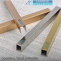 MSI Brand Decorative Stainless Steel T L U C J And Customised Profile