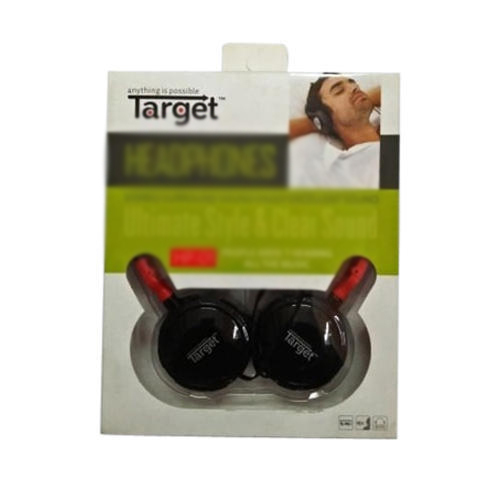 Black Target Bluetooth Headphone Rs 220 Piece Efundoo Enterprises Id 19003125962