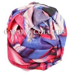 Printed Designer Wool Scarves