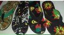 WOMENs Embossed PVC Slippers