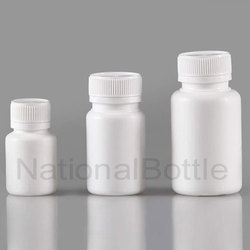 White Chlorine Tablet Container