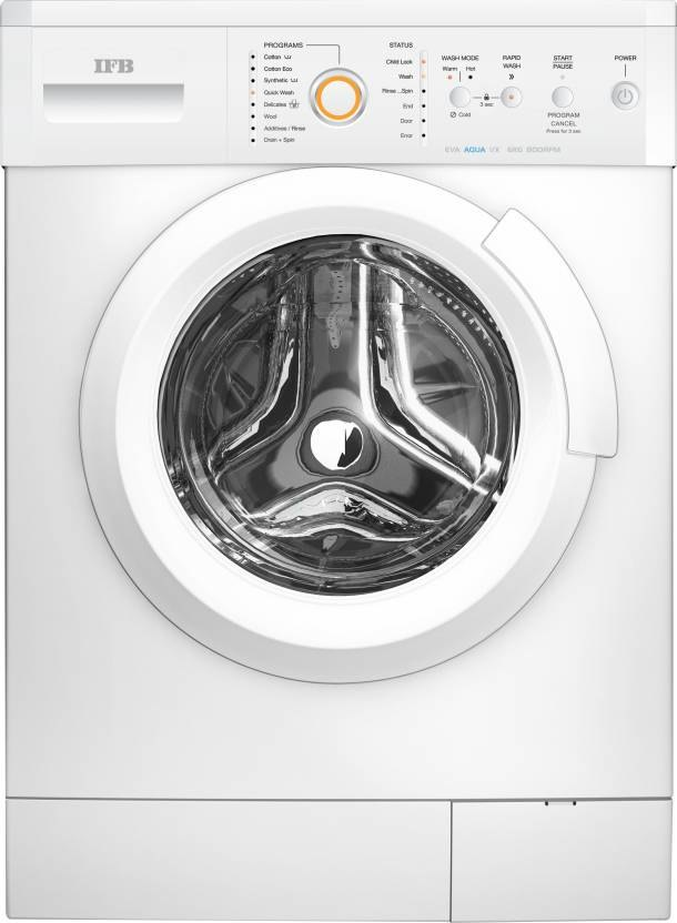 IFB 6 kg Fully Automatic Front Load Washing Machine, Eva Aqua VX LDT,...