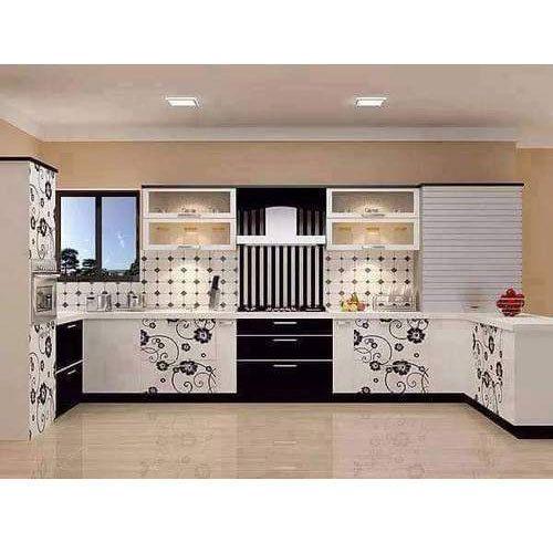 Designer Wooden Modular Kitchen at Rs 200000 /unit | Lakdi ...