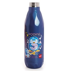 Cello Cool Jazz Water Bottle M Blue