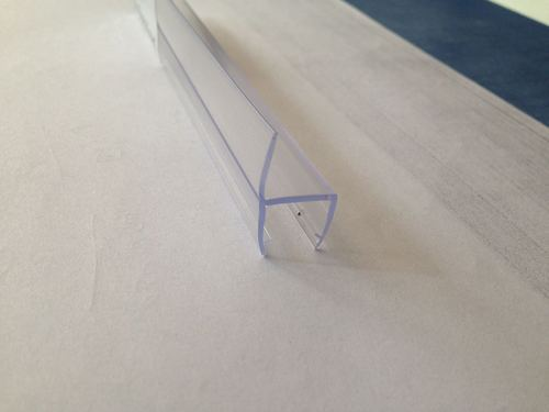 Transparent Pvc Glass Door Profile 8mm And 10mm Id 15755386848