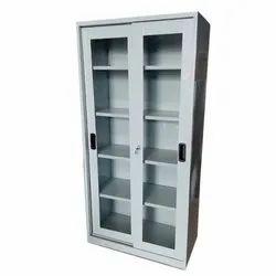 Mild Steel and Glass Sliding Cupboard Door