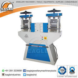 Double Head Premium Jewellery Wire And Sheet Roll Press