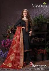 Nayaab Banarasi Dupatta Suits