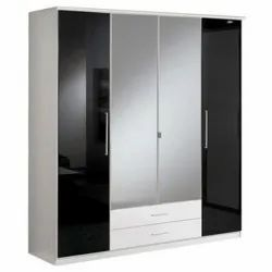 Stainless Steel Modular Wardrobe, For Residential