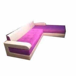 Wooden Living Room Sofa, For Office, Seating Capacity: 6 Seater