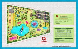 Amusement park Plan Layout Design