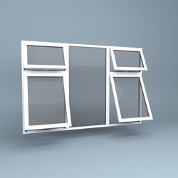 Top Hung Windows-UPVC
