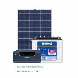 Single Phase Off Grid Luminous Solar Home Inverter System, Model Name/Number: 12120h