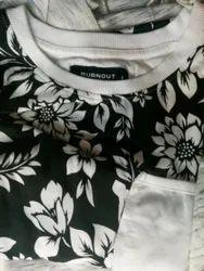 Floral Printed T Shirt