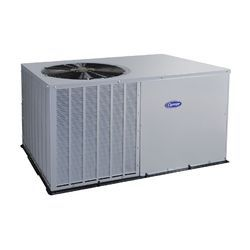 White 5 Star Commercial Carrier Package AC Unit, 4 Ton, 240-360v