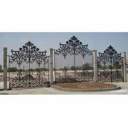 Prospect Style Cast Iron Gate