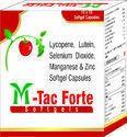 Lycopene Lutein Selenium Dioxide Manganese And Zinc Softgel Capsules