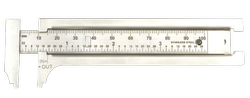 Kristeel Stainless Steel Pocket Calliper, Packaging Type: 10 Pcs