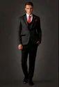Black Men Designer Western Suit