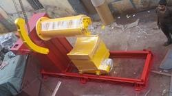 Motorized Decoiler With Coil Car