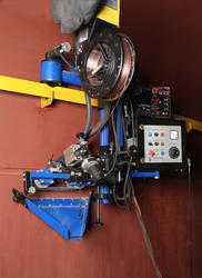 Bygging Hydraulic ''''Tank Lifting'''' System and ''''Tank Welding'''' System