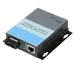 10/100 Ethernet to Fiber Media Converter