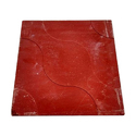 Maroon Stylish Ramp Tile, 5-10 mm, Size (In cm): 20 * 80