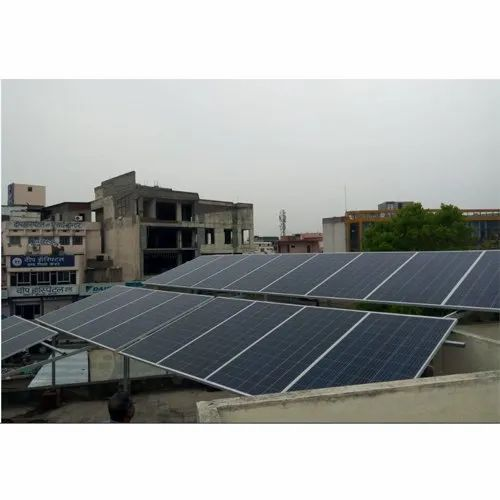 Tvm Mounting Structure 6 10 Kw Solar System Grid Connected Commercial Plant Without Subsidy Rs 36000 Kilowatt Id 19865521848