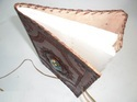 Binding Leather Embossed Journal with Printed Stone