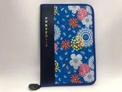Portfolio Flower Folder