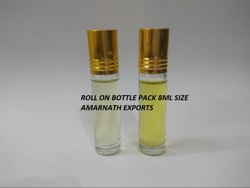 24 Month Roll on Glass Bottle Roll On Perfume, Packaging Size: 8ml, for Daily Use